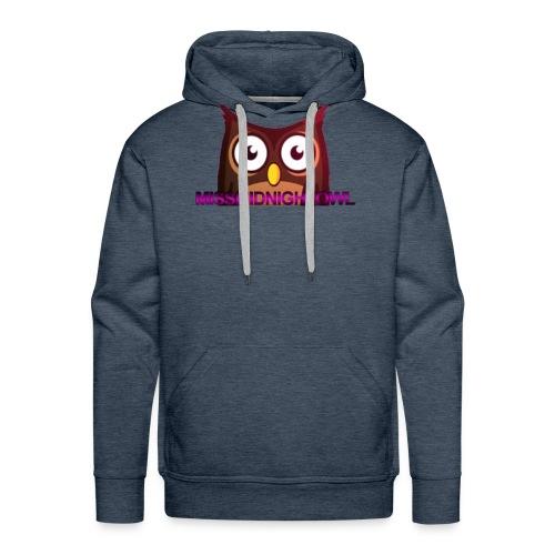 MissMidnightOwl male clothing - Men's Premium Hoodie