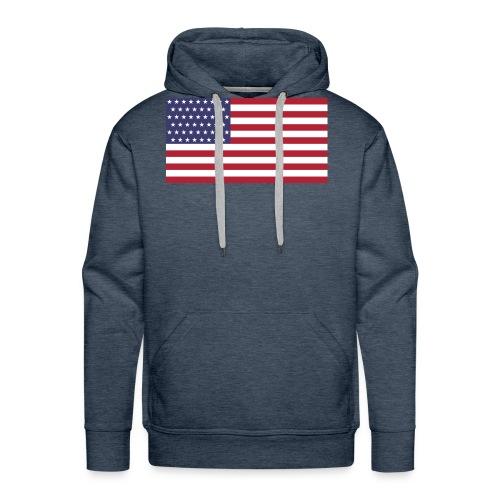 United states t shirt - Men's Premium Hoodie