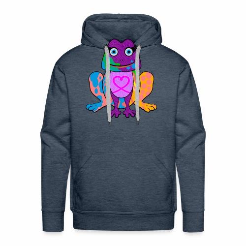 I heart froggy - Men's Premium Hoodie