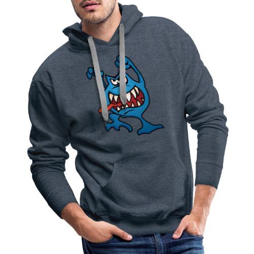 cartoon monster 4 - Men's Premium Hoodie