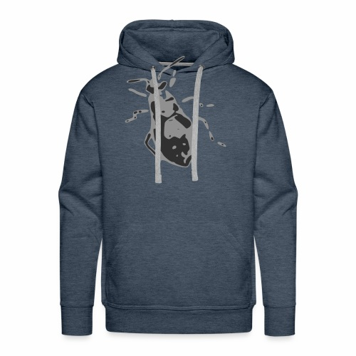 Abstract Aphid Bug Crawly Insect - Men's Premium Hoodie