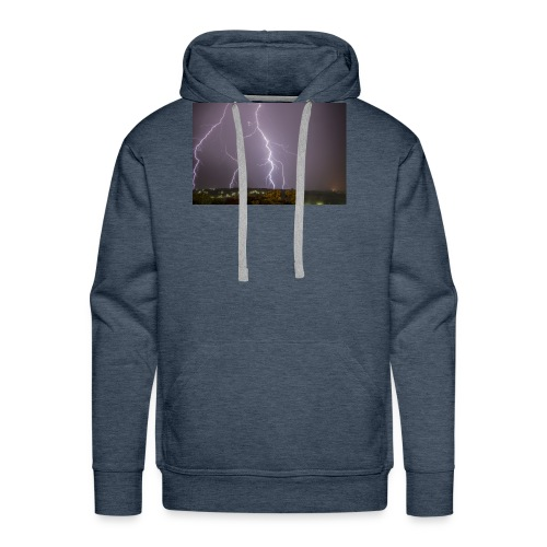 Thunder Thoughts - Men's Premium Hoodie