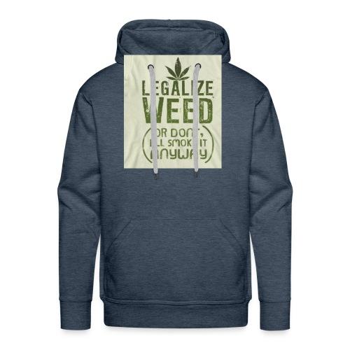 Legalize Weed - Men's Premium Hoodie
