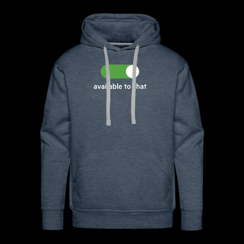 Available to chat Icon Printed Collection - Men's Premium Hoodie
