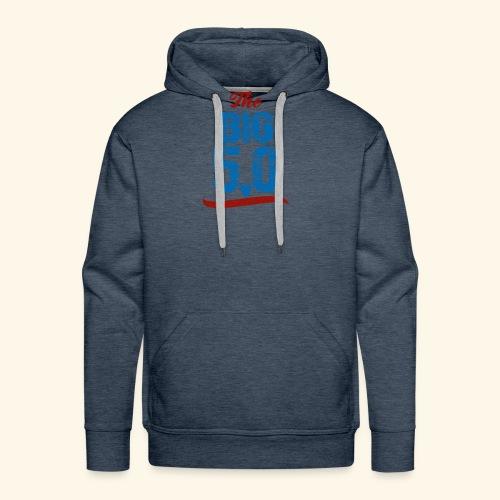 The Big Five-Oh 50th Birthday T-Shirt - Men's Premium Hoodie