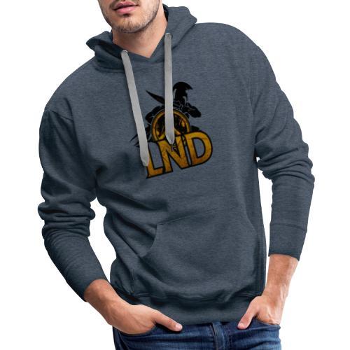 LND Logo Design - Men's Premium Hoodie