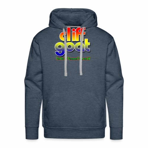 cliffgoat June 2018 Logo - Men's Premium Hoodie