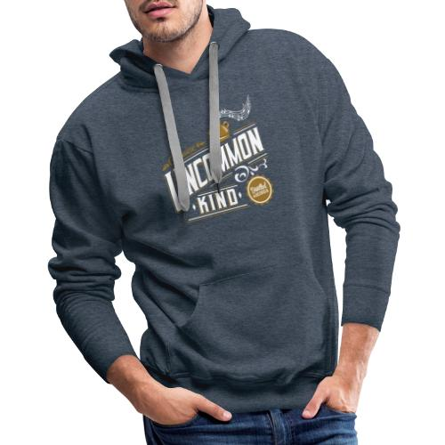 UK White - Men's Premium Hoodie