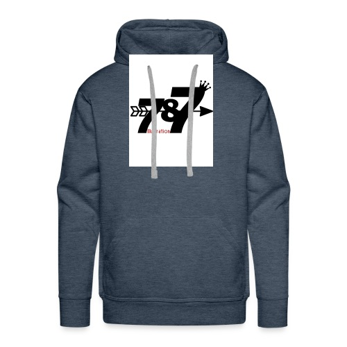 787 illustration - Men's Premium Hoodie