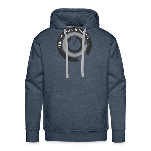 Time is still running - Men's Premium Hoodie