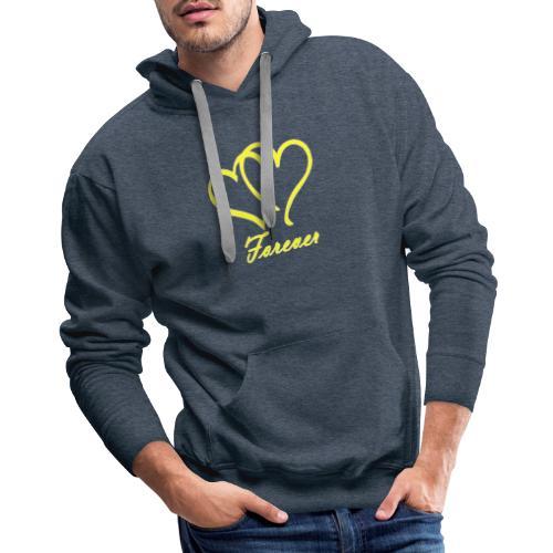 Love Forever - Men's Premium Hoodie