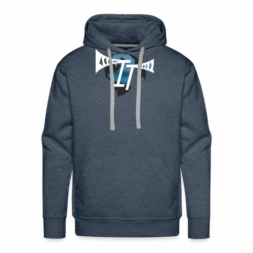 international thrills new logo - Men's Premium Hoodie