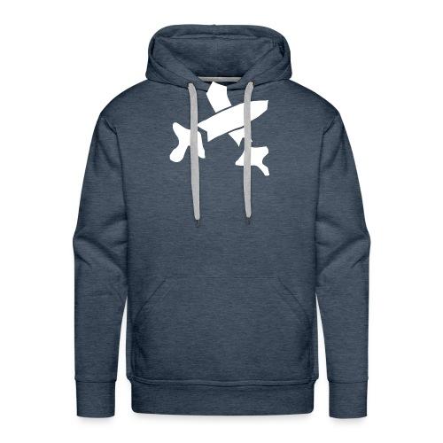 White Swords - Men's Premium Hoodie