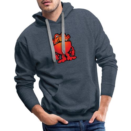 Cartoon Monster Alien - Men's Premium Hoodie