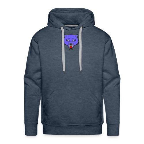 The Emblem Of A True WOLF - Men's Premium Hoodie