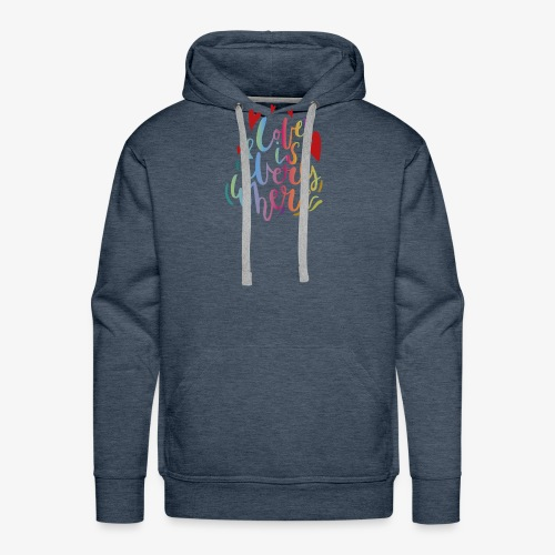 Love is everywhere - Men's Premium Hoodie