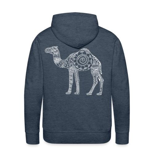 Camel Mandala - Men's Premium Hoodie