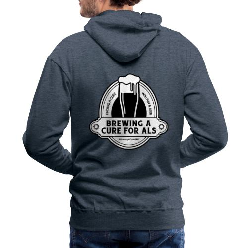 Brewing A Cure Logo Merchandise - Men's Premium Hoodie