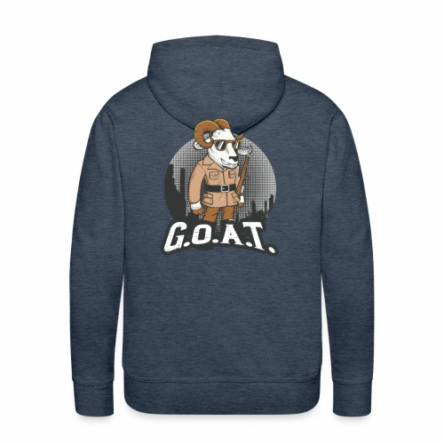 GOAT 2nd Edition - Men's Premium Hoodie