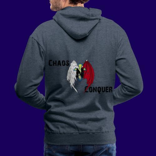 ChaosNConquer Design Logo - Men's Premium Hoodie