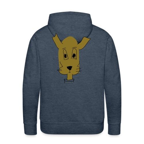 ralph the dog - Men's Premium Hoodie