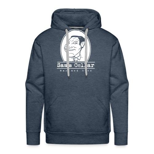 SamsCellar_White-logo - Men's Premium Hoodie