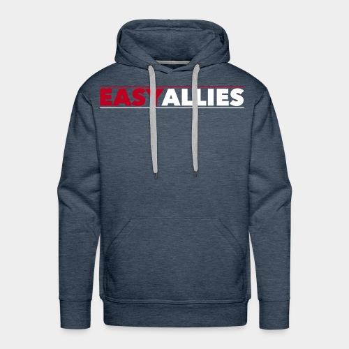 Easy Allies Red Logo - Men's Premium Hoodie