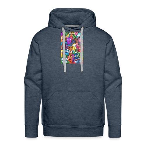 doodle art vexx - Men's Premium Hoodie