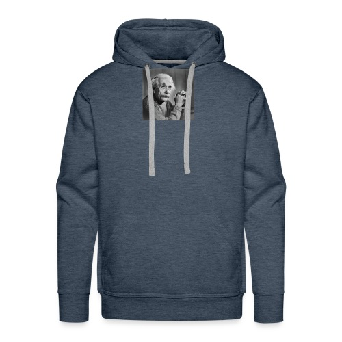Albert Einstein - Men's Premium Hoodie