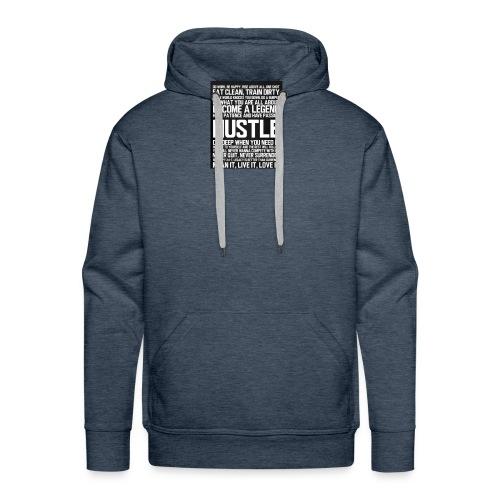 hustle - Men's Premium Hoodie