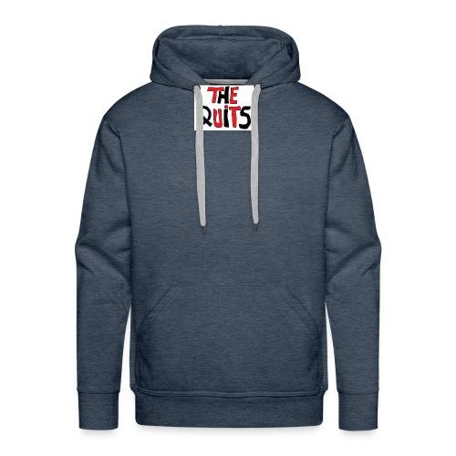 quits logo - Men's Premium Hoodie