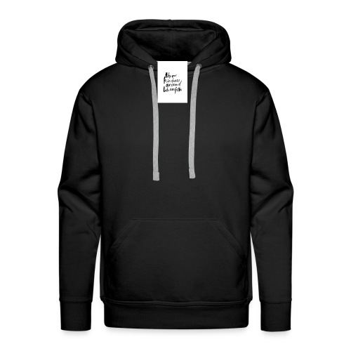 Throw kindness around - Men's Premium Hoodie