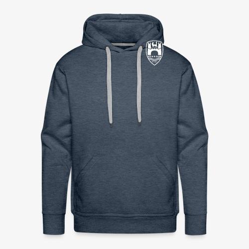 GTI & R Logo - white - Men's Premium Hoodie