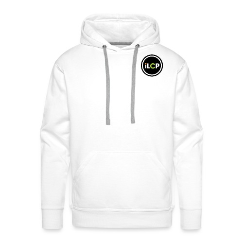 iLCP logo circle - Men's Premium Hoodie
