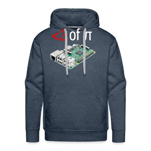 Life of Raspberry Pi - Men's Premium Hoodie