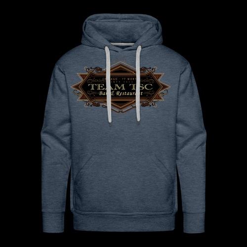 teamTSC badge03 Bar - Men's Premium Hoodie