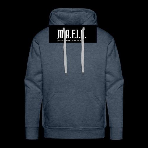 Classic Mafia Logo Black - Men's Premium Hoodie