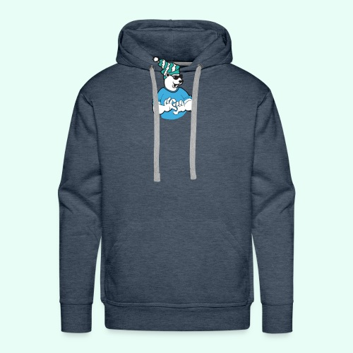 Sarcasm XD Poaly the Polar bear - Men's Premium Hoodie