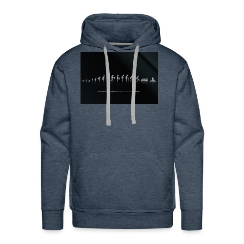 DIFFERENT STAGES OF HUMAN - Men's Premium Hoodie