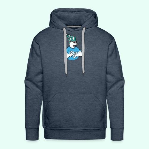 Sarcasm XD Poaly the Polar bear - Men's Premium Hoodie