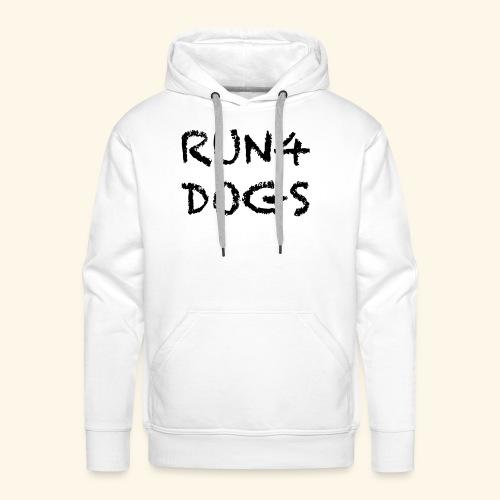 RUN4DOGS NAME - Men's Premium Hoodie