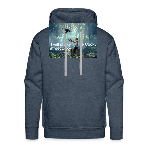 Stalky The Cocky Clothing - Men's Premium Hoodie