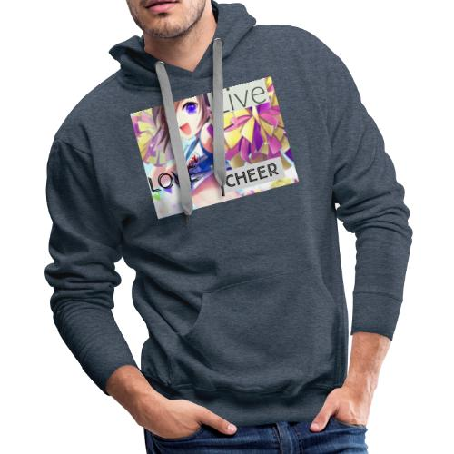 live love cheer - Men's Premium Hoodie