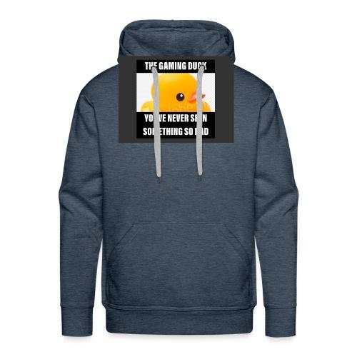 The Gaming Duck meme - Men's Premium Hoodie