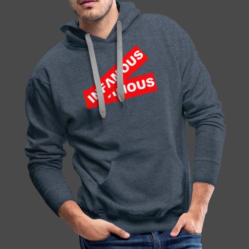 Infamous tag - Men's Premium Hoodie