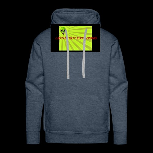 i love ligths out exploring - Men's Premium Hoodie