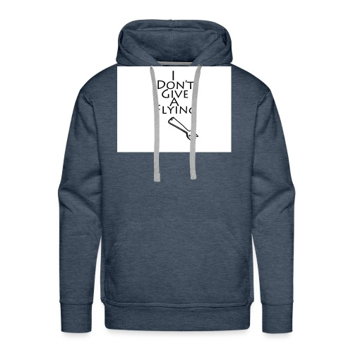 I Don't Give A Flying Fork - Men's Premium Hoodie
