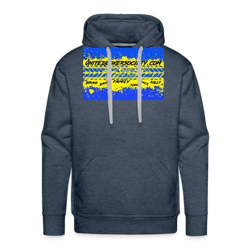 BUMPERSTICKER SPLATTER - Men's Premium Hoodie