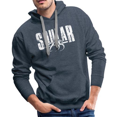 Soular235 White Logo - Men's Premium Hoodie