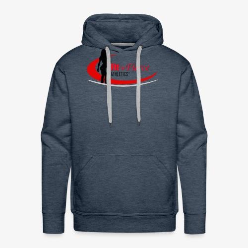 Fit 'n Fierce Athletics full logo - Men's Premium Hoodie